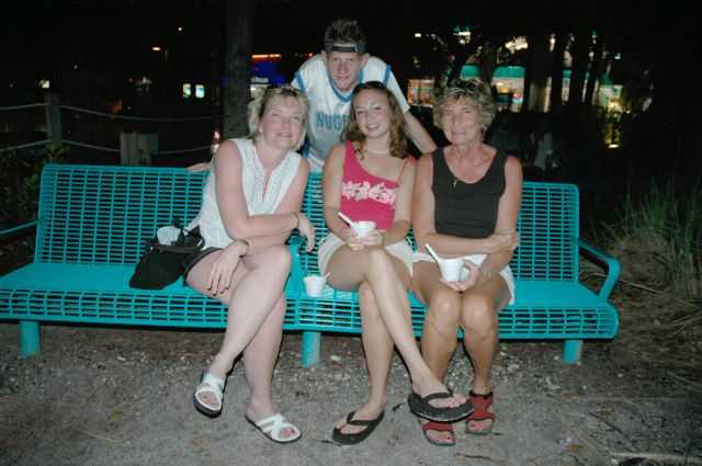 Cheryl Betty Katie Danny - Fort Myers Beach FL