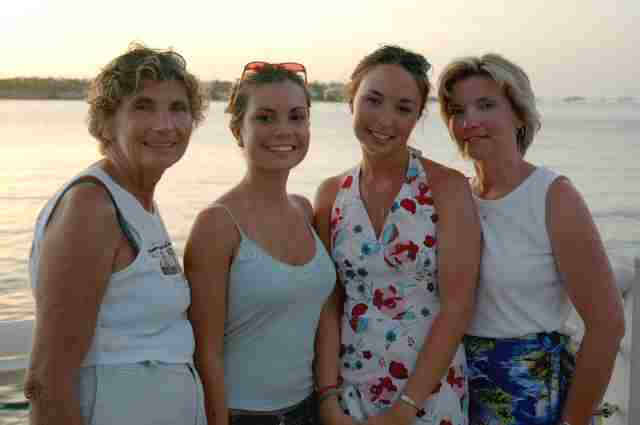 Aimee Katie Betty Cheryl - Mallory Square - Key West FL