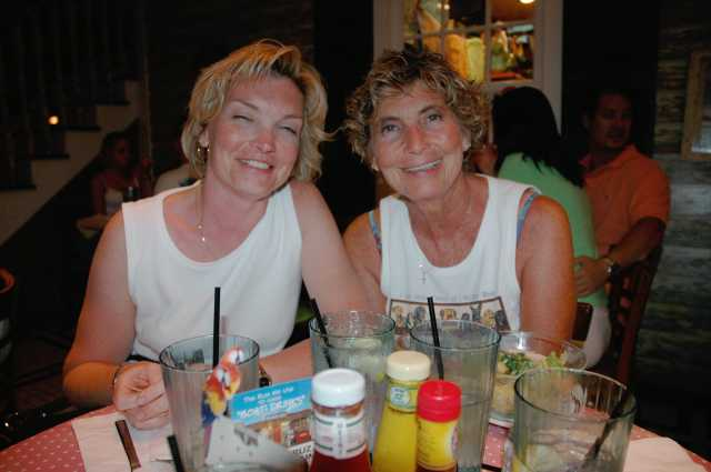 Betty and Cheryl - Key West FL