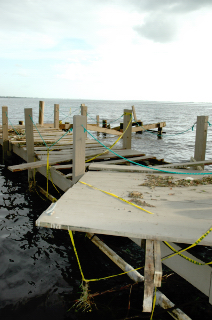 Dock at Pintchers - North Fort Myers FL