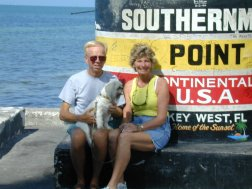 Marv and Betty - Southern Most Point - Key West FL