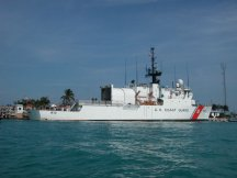 US Coast Guard boat - Key West FL