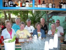 Dee Light and SITTING DUCK Crews - Blue Hevan - Key West FL