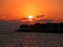 Sunset - Mallory Square - Key West FL