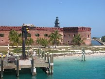 Dock - Fort Jefferson - Dry Tortugas Florida