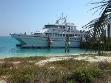 Water Ferry - Fort Jefferson - Dry Tortugas Florida