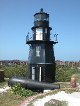Lighthouse - Fort Jefferson - Dry Tortugas Florida