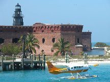 Sea Plane - Fort Jefferson - Dry Tortugas Florida