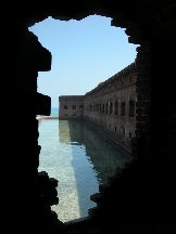 View thru a Window - Fort Jefferson - Dry Tortugas Florida
