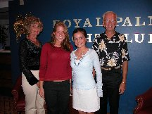 Aimee Erin Betty and Marv - Royal Palm Yacht Club - Fort Myers FL
