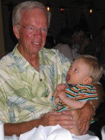 Marcus and Gramps - Holmes Beach FL