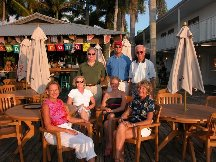 Judy Jim Marv Betty Gabriele Jon and Sarah - Fort Myers FL