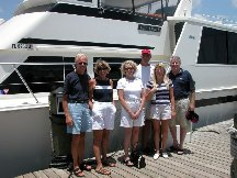 Judy Jim Marv Betty Jon and Sarah - Fort Myers Beach FL